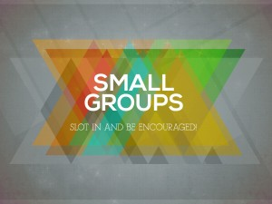 Wednesday Daytime Small Group