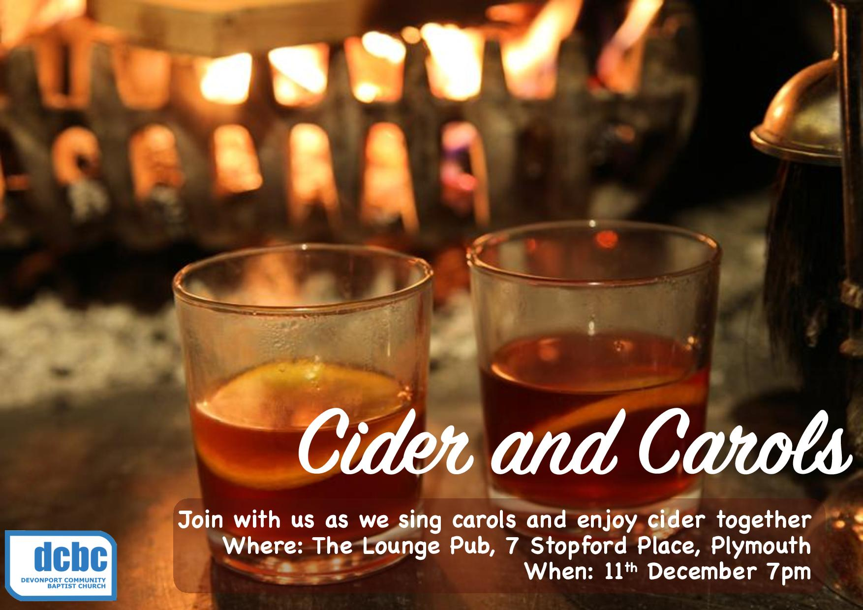 Cider and Carols
